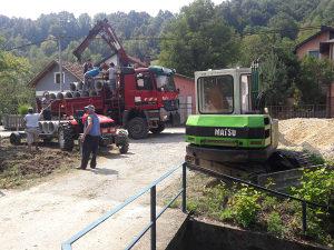 Iskopi bagerom rusenje objekata kopanje ravnanje