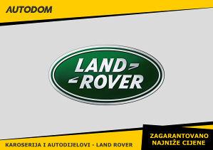 Karoserija i dijelovi - LAND ROVER - AUTODOM.BA