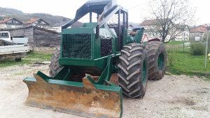 Šumski traktor Tree Farmer C6