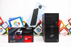 Gaming PC Fujitsu P520; i5-4570; 8GB DDR3; RX 570 4GB