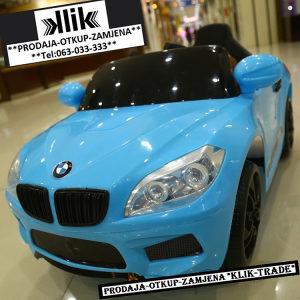 BMW dječiji/dječji auto/autić na akumulator za djecu