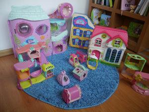 LPS Set 100  figurica, kućice i sitnice