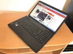 "Laptop Toshiba 17.3"" dual-core 1.50 /250GB/4GB/RadeonHD"