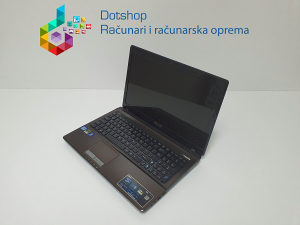 Laptop ASUS i7 2670M 2,2 GHz / 6GB RAM / 240GB SSD