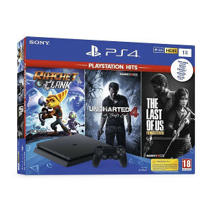 PlayStation 4 1TB F chassis ( 3 igrice gratis )
