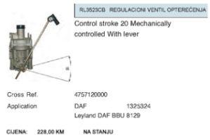 Regulacioni ventil opterećenja za DAF