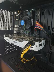 INTEL I3 9100F / ASUS H310M / GTX 1070 8GB / 8GB DDR4