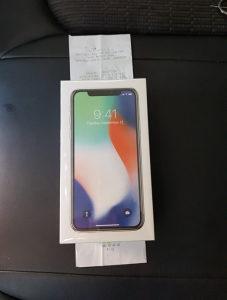 IPHONE X 256GB Novo Nekoristeno Garancija