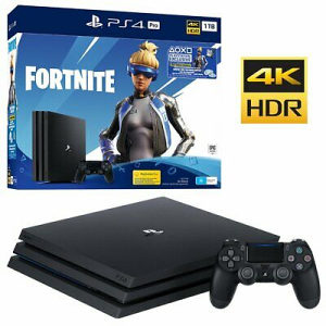 PLAYSTATION 4 PRO 1TB G CHASSIS + FORTNITE  (PS4)