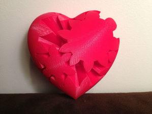 Srce Zupčanik // 3D Print