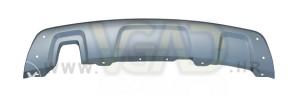 Dacia Duster 10- pvc ispod branika siva