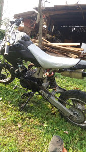 Cross 125cm pit bike