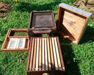 Komplet pčelarska oprema i alati za manji pčelinjak