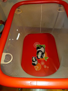 Igraona za bebe, obložena spužvom, sklopiva, CAM Italy
