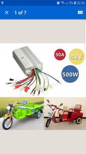 Dc 48v 500w elektricni skuter