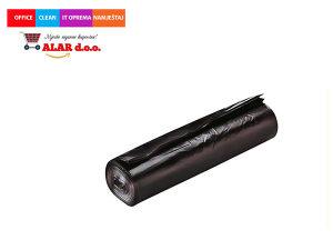 Vreće za smeće 60l 1/10 srednje,crna s vezicom 1911014