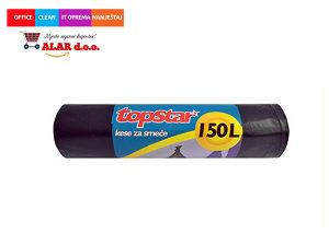 Vreće za smeće 150 litara 1/8 crna 1911025