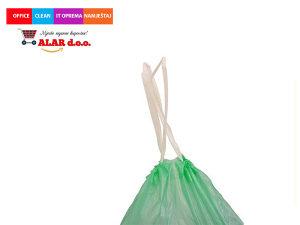 Vreće za smeće 40l 1/12 male sa špagom crne 1911056