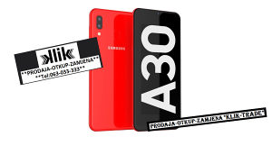 Samsung Galaxy A30 64GB Dual sim-Duos RED *NOVO* DS