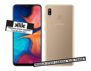 Samsung Galaxy A20E Dual sim-Duos GOLD *NOVO* DS A20 E