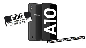 Samsung Galaxy A10 32GB Dual sim-Duos BLACK *NOVO* DS a