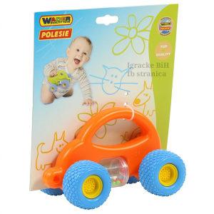 Auto autić za bebe sa zvečkom POLESIE TOYS NOVO