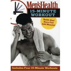 Mens Health 15 Minute Workout Tutorial -DVD