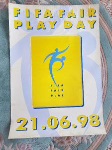 Poster sa Sv.prvenstva u Francuskoj 1998