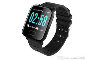 Smart bracelet A6 black pametna narukvica