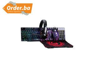 Marvo Miš, Tastatura, Slušalice i Podloga Set CM370