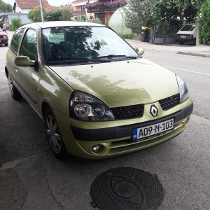 Renault Clio 1.2 16v chemsee