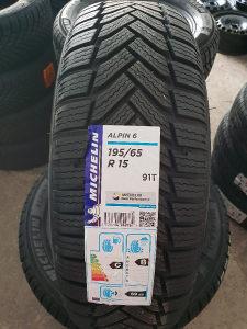 195 65 15 Michelin Alpin A6 R15 ZIMSKE GUME