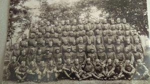 Stara  fotografija - slika vojnika Kraljevine Jugoslavi
