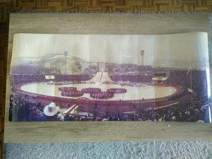 Poster olimpijada sarajevo ZOI 1984