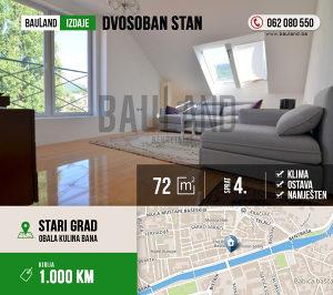BAULAND / Dvosoban stan / Baščaršija / Stari Grad