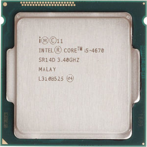 I5-4670 up to 3.8GHz