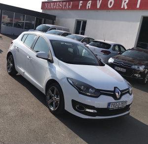 Renault Megane 1.5 DCI 2015 GODINA NOVI MODEL
