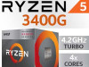 AMD Ryzen 5 3400G 8x3.7-4.2GHz AM4 Vega 11 GPU