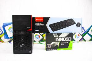 Gaming PC Fujitsu P520; i5-4570; 8GB RAM; GTX 1650 4GB