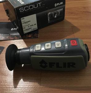 Thermal monocular - Flir scout ll 320 -