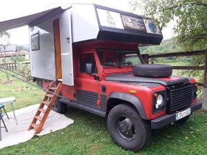 Land Rover Defender Kamper REGISTROVAN