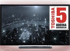 "Toshiba 32"" LED WiFi Smart TV 32WL3A63DG + Bluetooth"