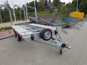 Auto prikolica za prevoz automobila
