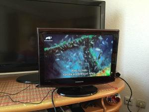 Lcd tv samsung 19 incha dvbt hdmi
