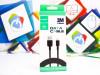 USB - Micro kabal 3M 2,1A QH-C01