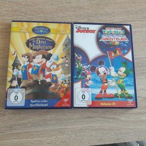 Dva DVD-a Miki Maus Micky Maus Dizni