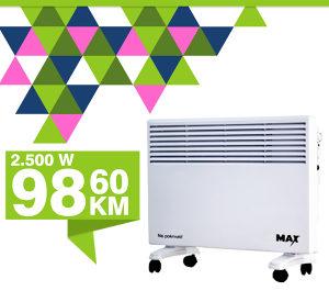 Konvektor Max 2500W