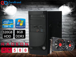 GAMING RAČUNAR i5-3470 8GB DDR3 RX580 8GB