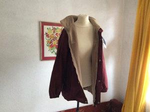 topla otmena jakna za jesen i zimu dva lica