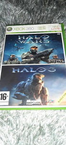 Xbox 360 HALO WARS HALO 3 orginal